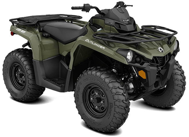 Квадроцикл OUTLANDER 570 PRO BRP Can-Am 2018