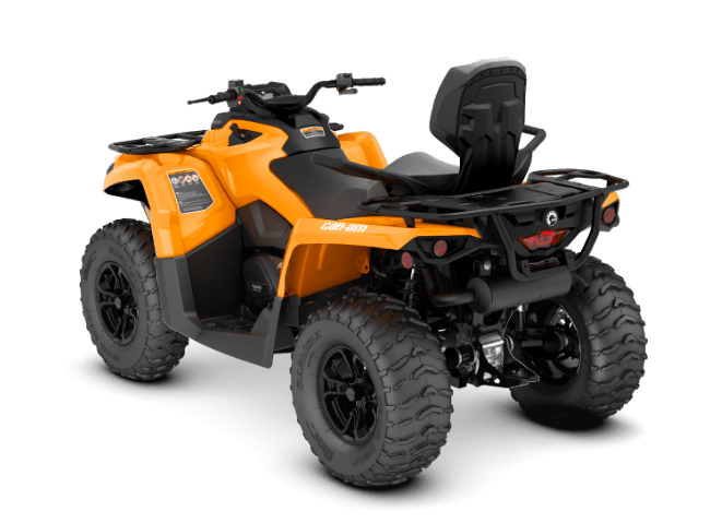 Квадроцикл OUTLANDER MAX 570 DPS BRP Can-Am 2018 вид сзади