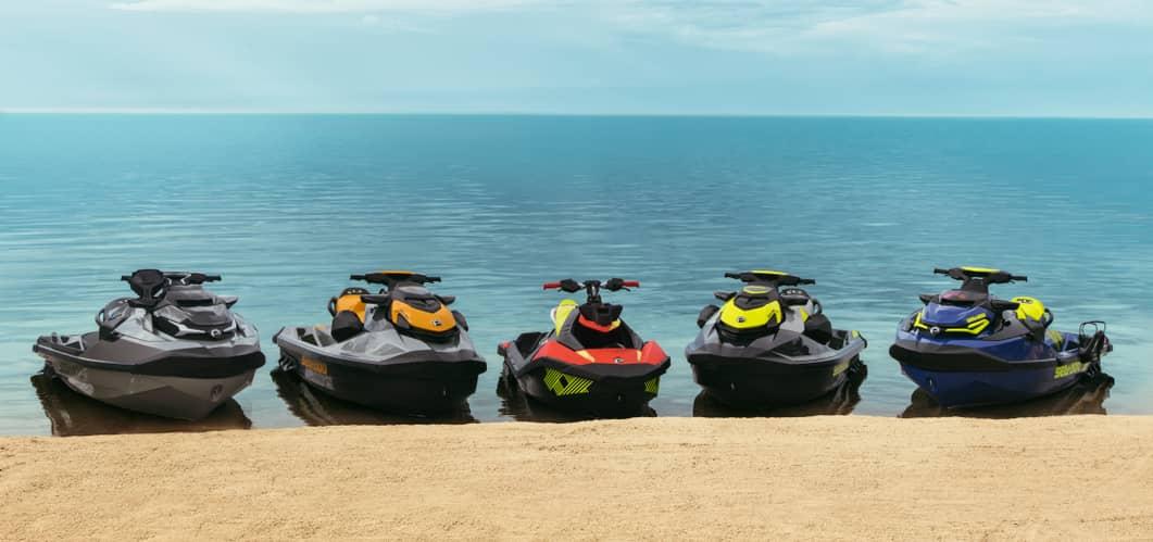Гидроциклы Sea-Doo, модельный ряд 2021